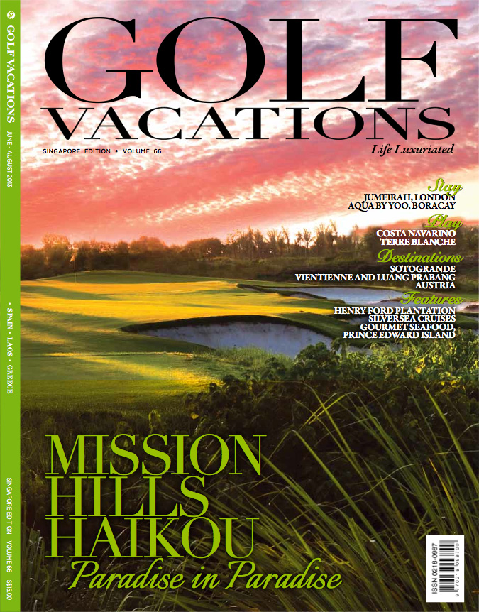 Golf Vacations Singapore